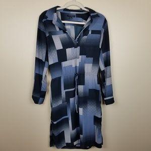 Banana Republic Factory blue block dress size 4
